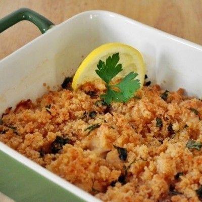 recipe: baked scallops florentine [25]