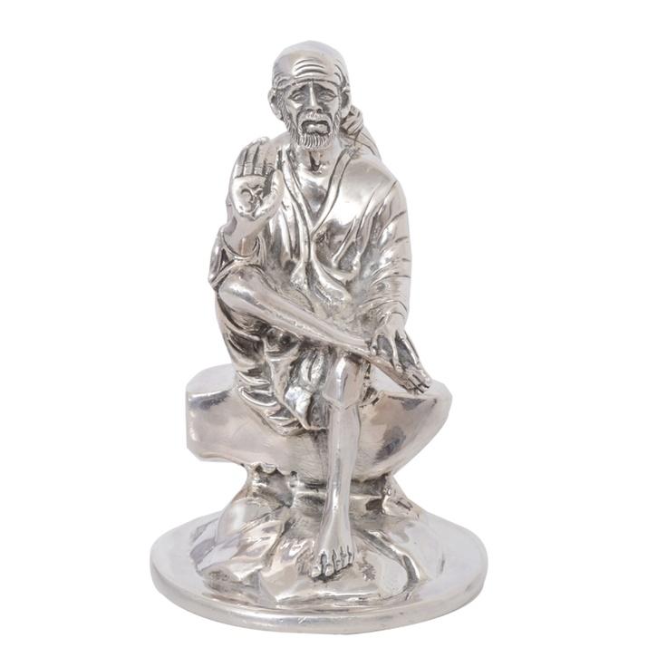 92.5 Silver Shirdi Sai Baba Idol