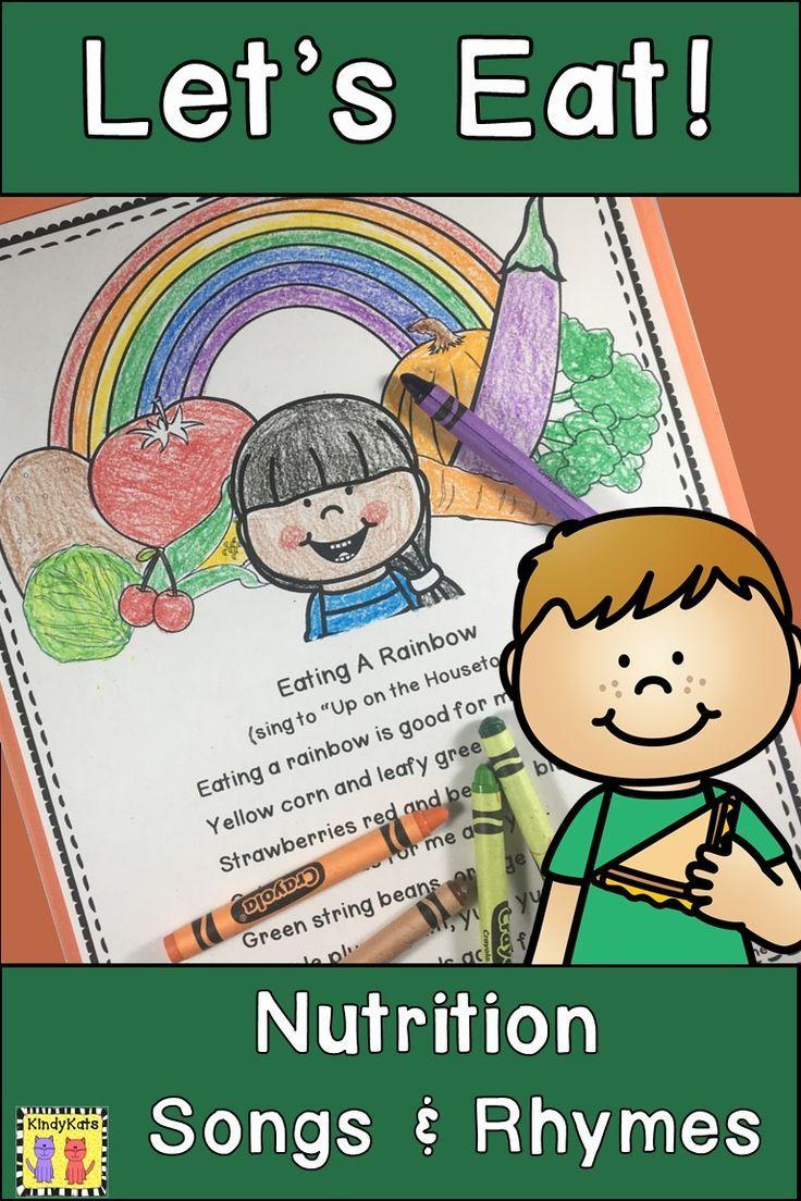 Nutrition Songs & Rhymes Healthy kids, Kids nutrition