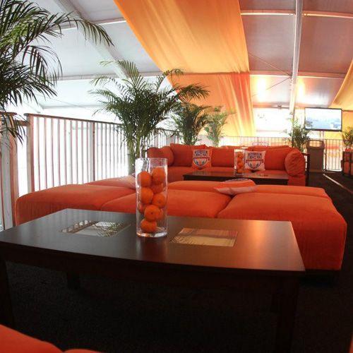BCS Lounge using Tangerine Modular Collection
