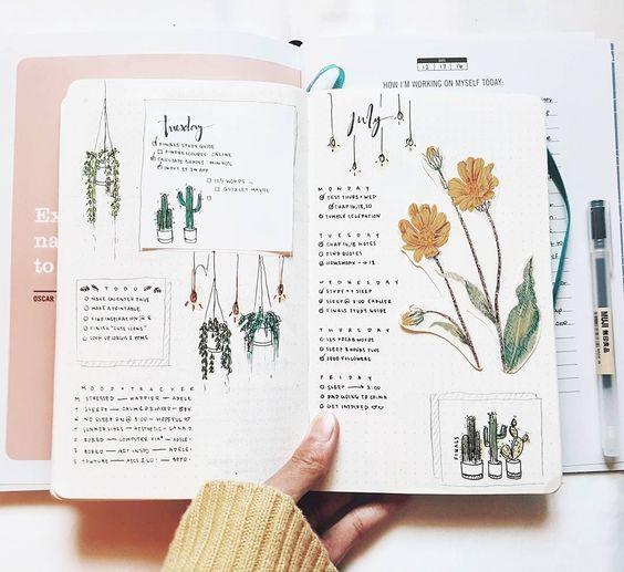 Bullet Journal – O que é? E inspiração para começar!