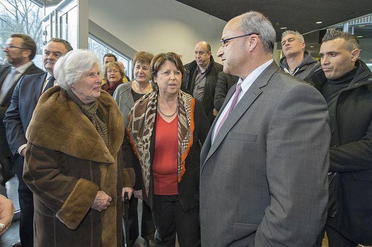 25-02-16 : Inauguration de l'auberge de jeunesse S. Hessel à Lille