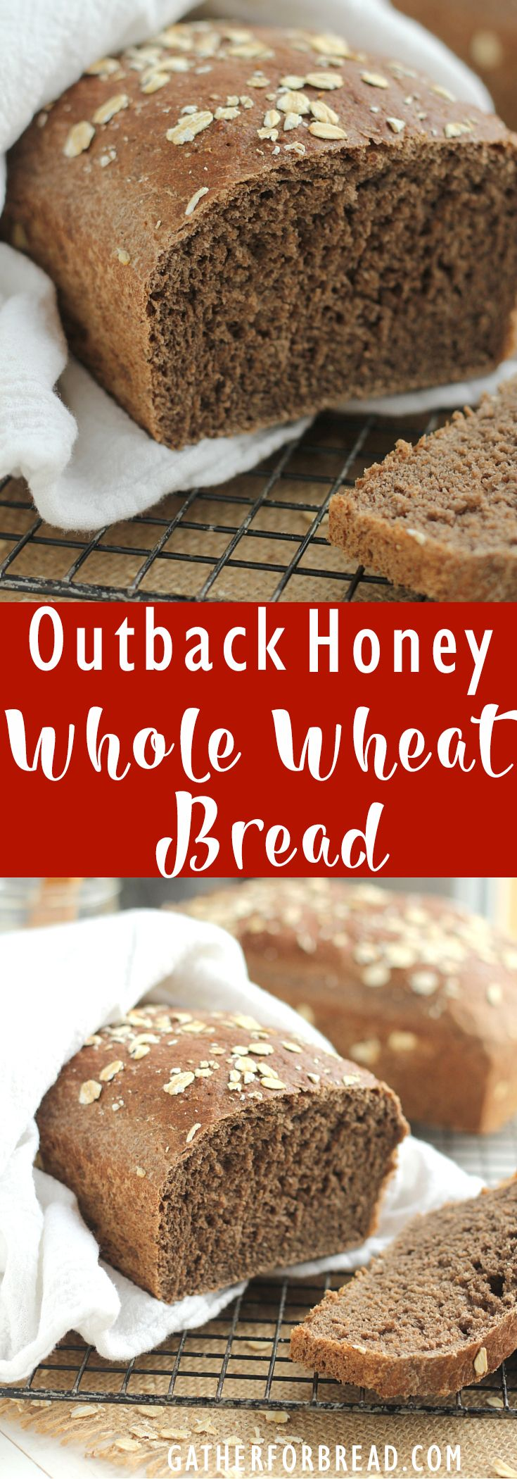 Outback Honey Whole Wheat Bread (Bake Bread Rustic)