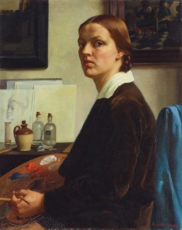 Heysen Nora, 1932 self portrait
