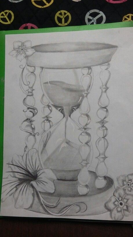 Hour glass  tattoo design for my best friend                                                                                                                                                                                 Mais