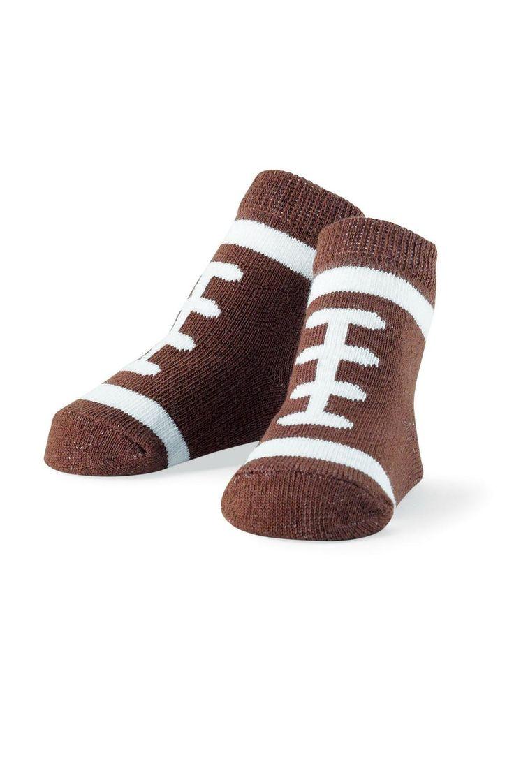 Mud Pie Football Socks - Main Image