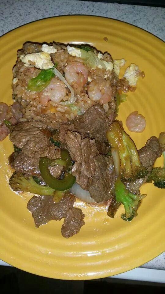 #arroz#chino#peper#steak#sabrosas