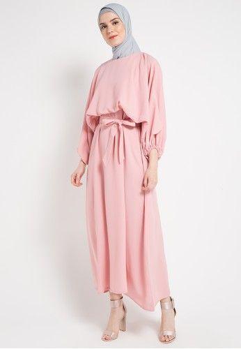 Beli Zumara Peasant Long Dress Gamis Dengan Harga Hanya Rp 303 200