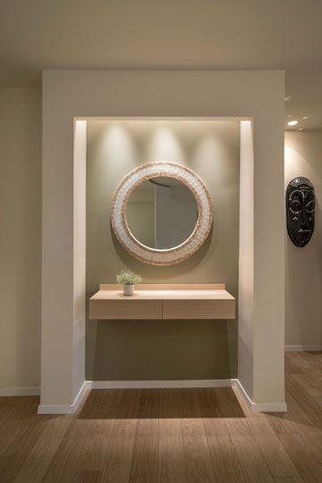 Xnet - עיצוב פנים ושיפוץ לאחר הבנייה: דירה חדשה של  Interior Design - BLV Design & Architecture - click through for more photos מבואה בכניסה לדירה