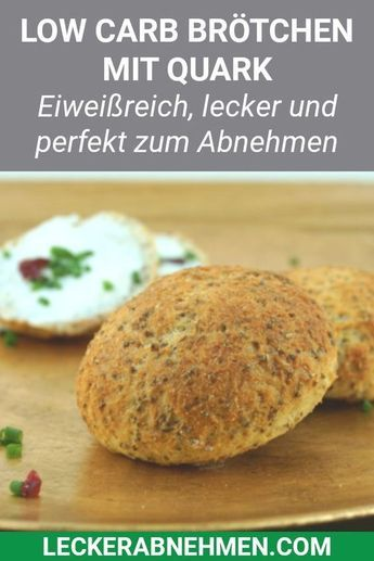 Fluffige Low Carb Brötchen – Sabine Oehmig