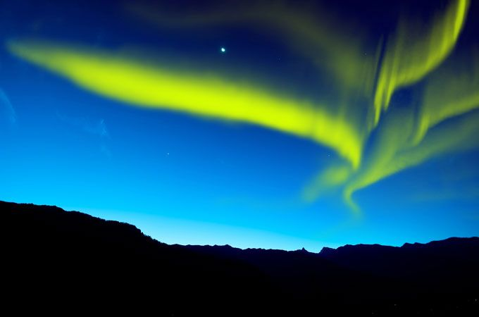 Aurora Borealis , 6 places to see the Aurora Borealis in winter 2013–2014 on a budget