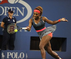 #Serena!! The reason why everyone asks me if I play tennis...apparently we look a like
