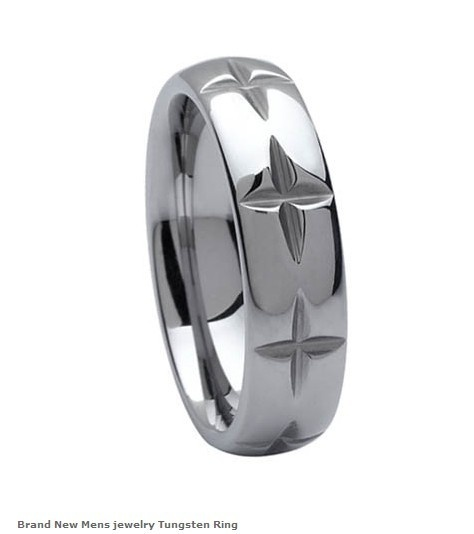 brand new mens jewelry tungsten rings mens wedding bands