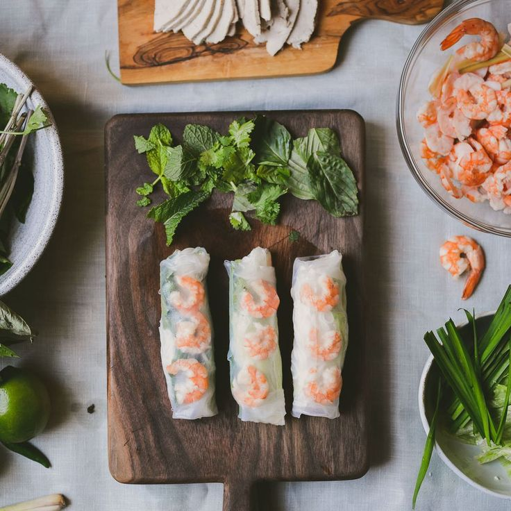 how to cook shrimp for vietnamese spring rolls