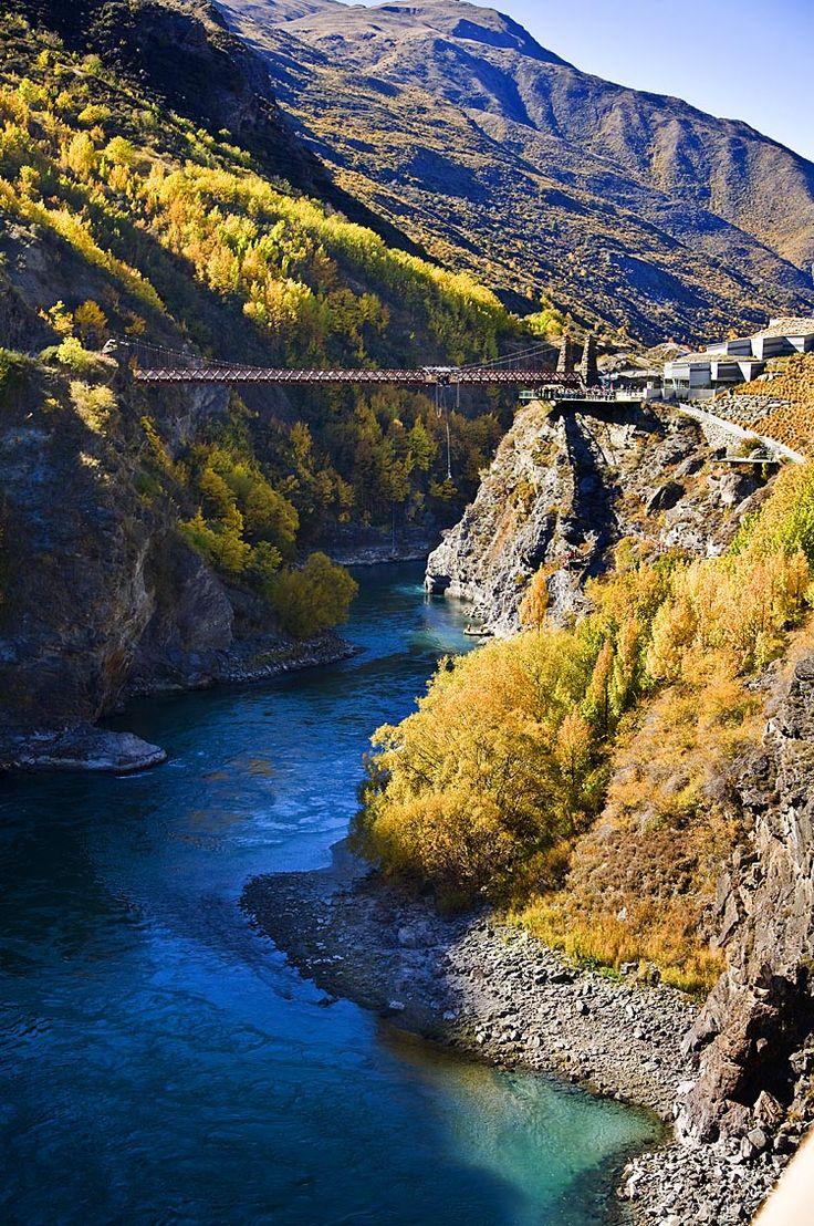 Bungy Bridge, Queenstown NZ, see more, learn more, at New Zealand Journeys app for iPad www.gopix.co.nz
