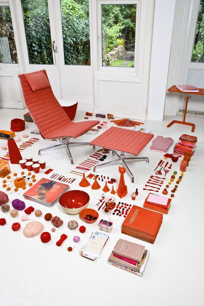 From Things Organized Neatly   Eames Aluminum Chair Brochure