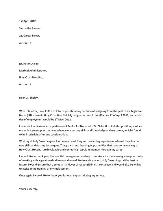 25+ unique Resignation email sample ideas on Pinterest Thank you - letters of resignation sample