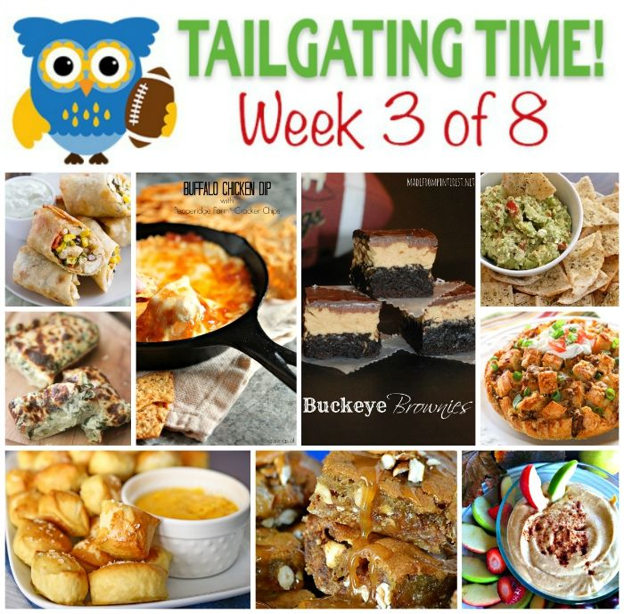 The Ultimate Tailgating Recipe Series Week 3 | Make your party score with these 9 sweet and savory tailgating recipes.