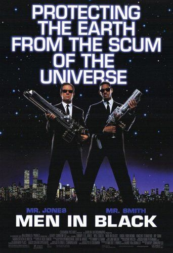 Directed by Barry Sonnenfeld.  With Tommy Lee Jones, Will Smith, Linda Fiorentino, Vincent D'Onofrio. A streetwise NYPD detective joins a secret organization that polices extraterrestrial affairs on Earth.