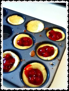 Muffin Tin German Pancakes--fill cup halfway with batter then bake 15 min @ 400' Let cool then fill