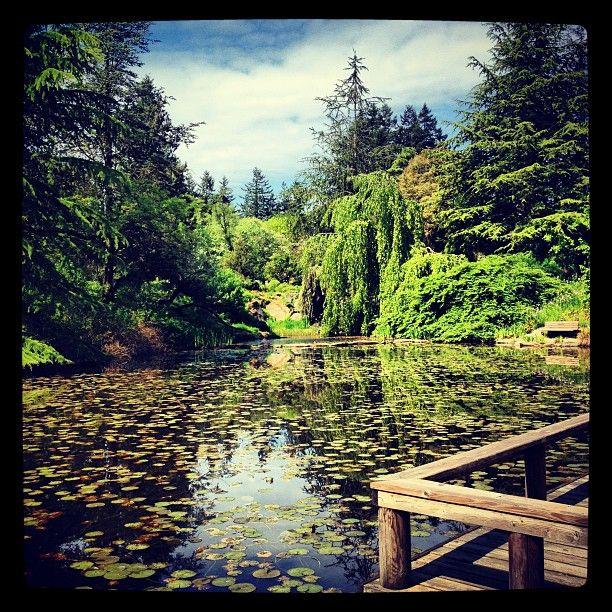 VanDusen Botanical Garden in Vancouver, BC