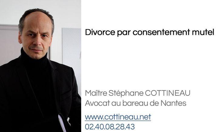 Le divorce par consentement mutuel  (dit « divorce à l'amiable » ou « divorce sans juge ») permet aux époux de rester maître de leur décision. Il s'agit d'un véritable contrat entre les parties.
