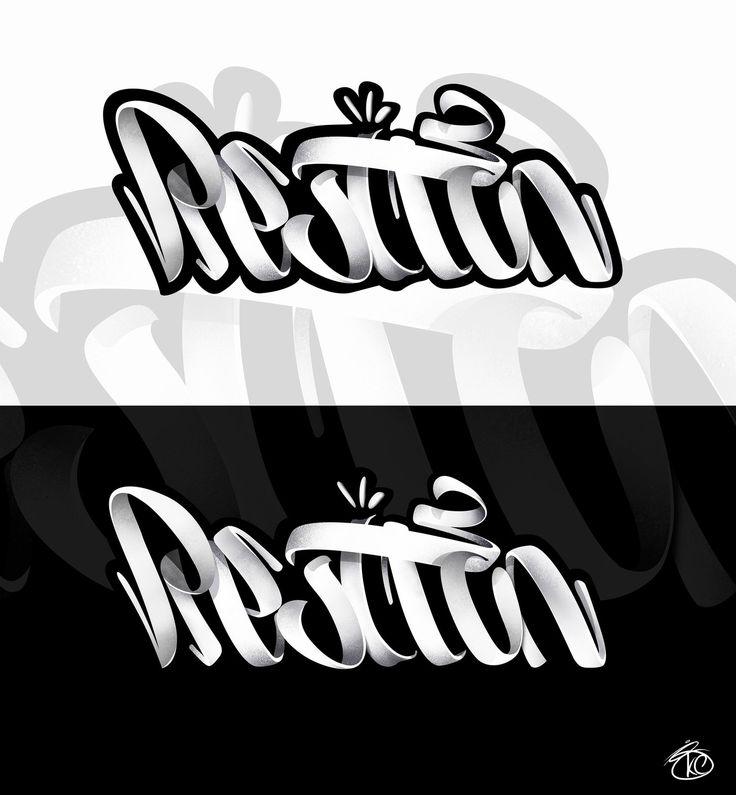 lettering, Kostya Stupar on ArtStation at https://www.artstation.com/artwork/LWZKw
