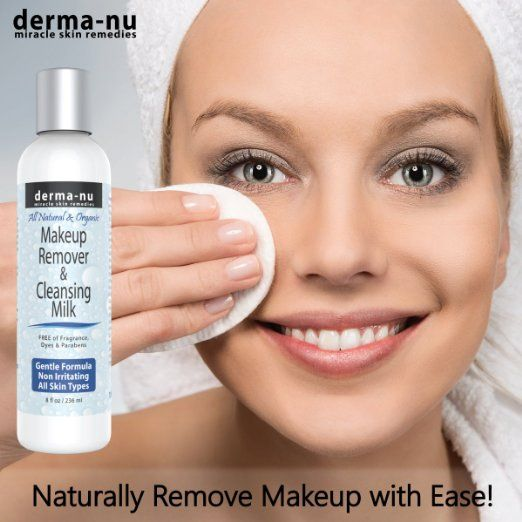 Amazon.com : Makeup Remover & Cleansing Milk by Derma-nu - All Natural…