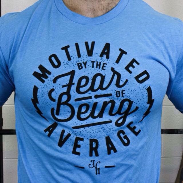 Back in stock! What motivates you? www.jekyllhydeapparel.com