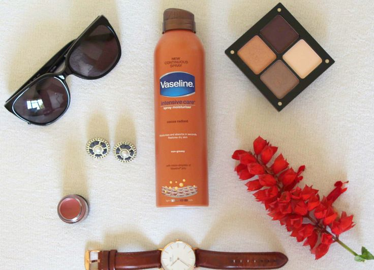Vaseline sprays moisturisers are convenient and so easy to use.   http://theauthenticgirl.com/vaseline-spray-moisturisers/