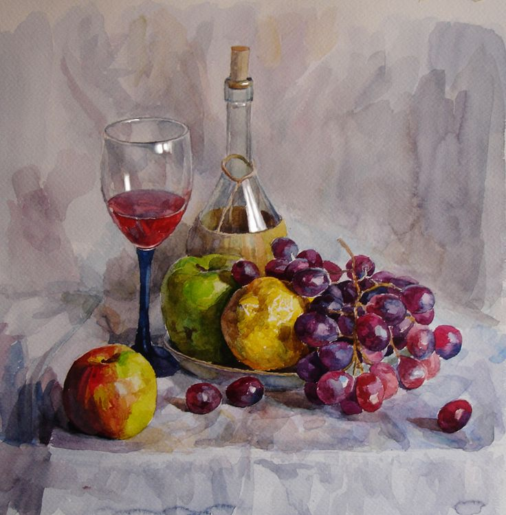 still life with glasses painting - Google Search