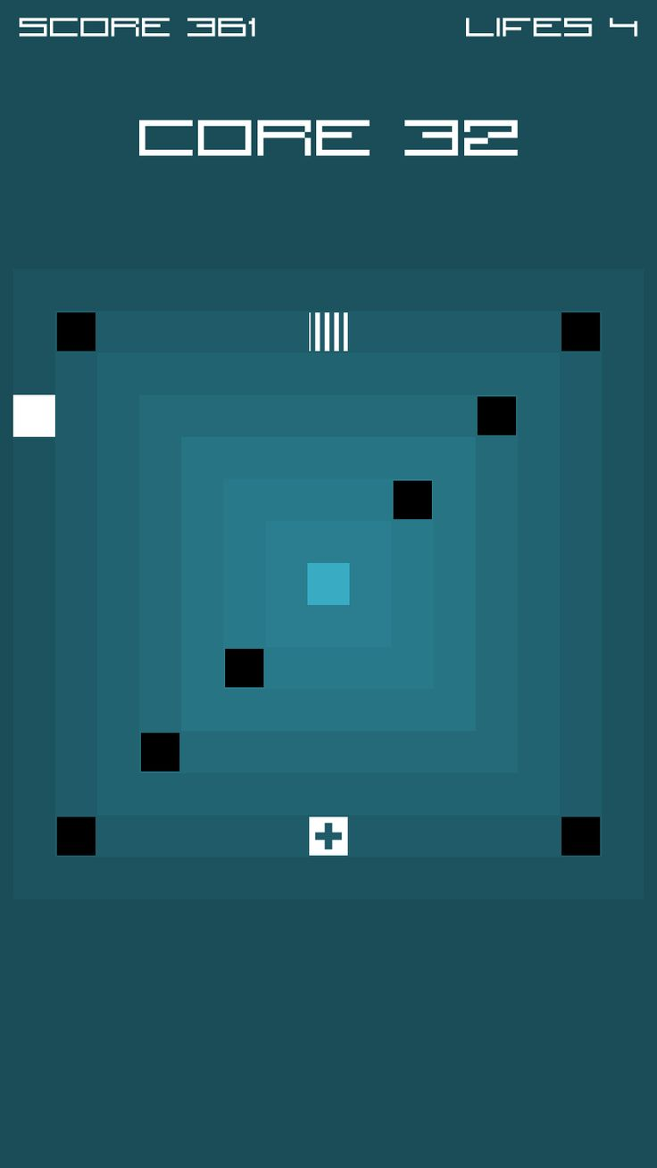 a super minimalistic speed action strategy game