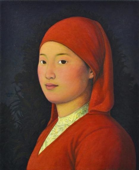 2011 RED, Xue Mo (b1966, Inner Mongolia, China; since 2011 based in Canada)