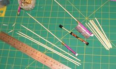 Paper bobbins for lace
