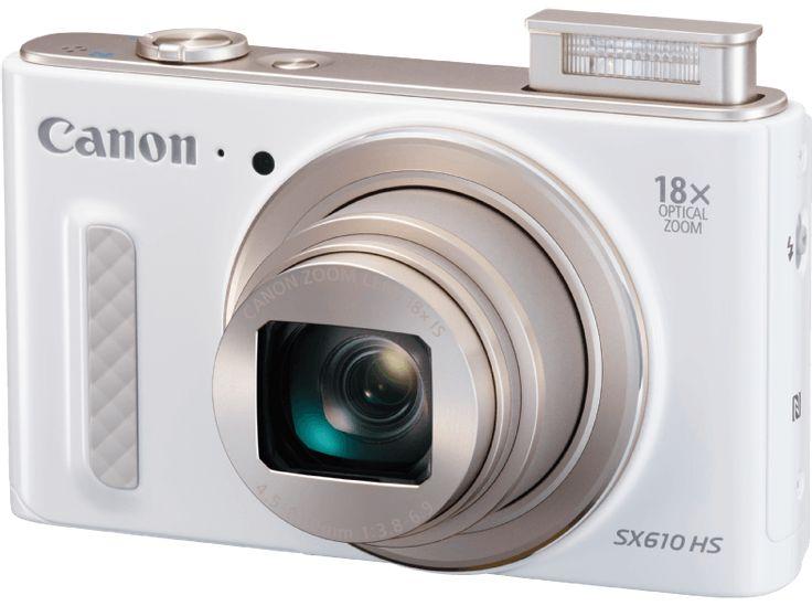 CANON PowerShot SX610 fehér digitális fényképezőgép - Media Markt online vásárlás