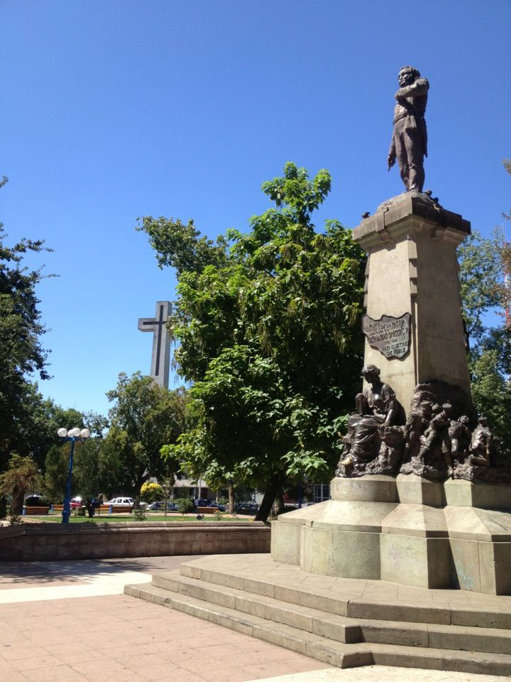Plaza de Armas de Chillán en Chillán, Biobío