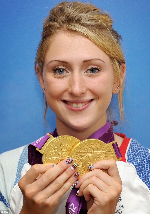 Laura Trott in Cycling 2012