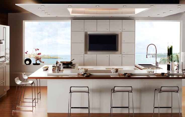 Kitchen by the sea