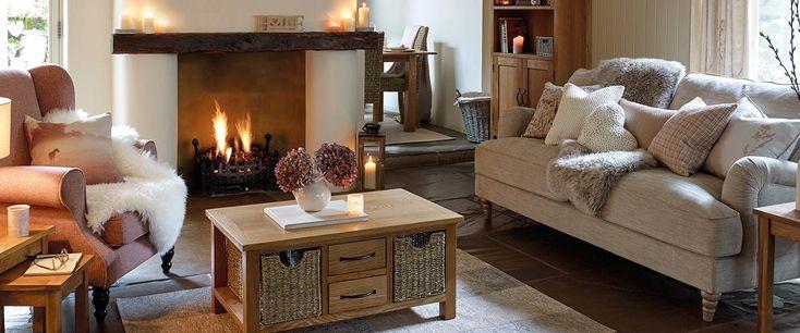 Sidmouth Oak Living Room Furniture