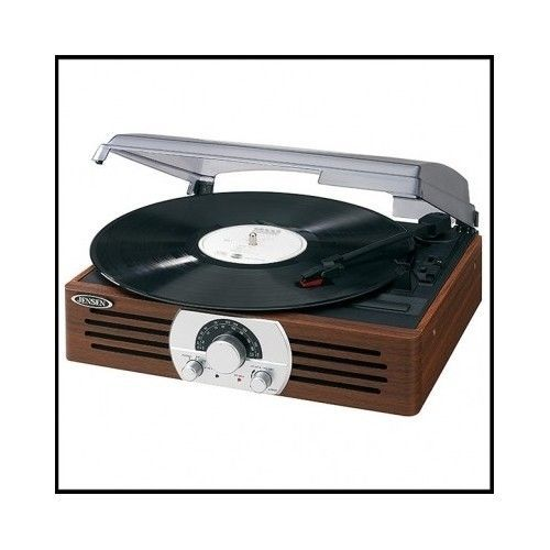 Vinyl-Record-Player-Vintage-Turntable-Antique-Retro-Portable-3-Speed-Stereo-Wood