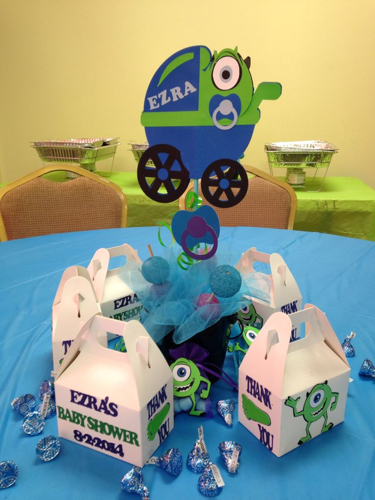 monster inc baby shower later on down the road pinterest