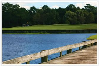 Seascape Golf Course - The Seascape Destin golf course will surpass your expectations with 18 lush contoured fairways and immaculate greens winding through the Resort's lush forests and around its tranquil lakes. The course is situated among a series of fresh water and coastal dune lakes and features breathtaking views of the Gulf of Mexico from many holes. Fifteen of the eighteen holes have water features.