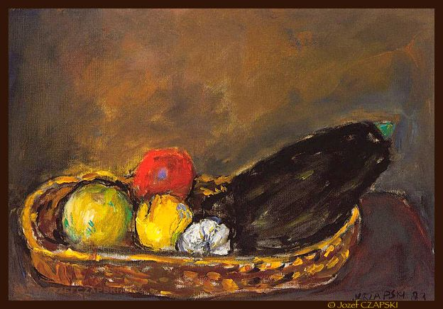 Jozef CZAPSKI - fruits and vegetables