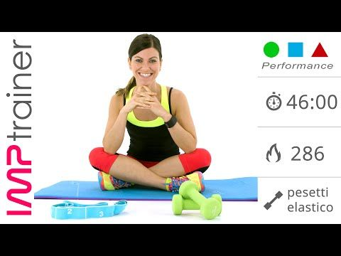 Allenamento Total Body con Pesetti , HIIT e Addominali (IMP Performance) - YouTube