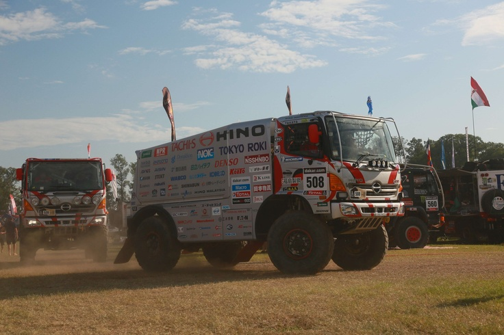 Dakar 2013 - Hino Trucks Finish for the 22nd Time