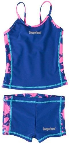 black or purple tankini for junior girls | ... girls-and-juniors-swimsuit/ - #bikini #bikinis #swimsuit #swimsuits #