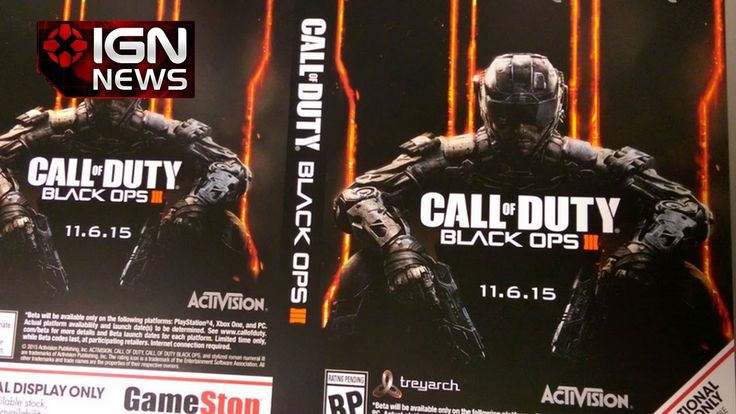 Call of Duty: Black Ops 3 Release Date Possibly Leaked - IGN News