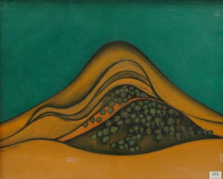Hills near Gundagai by Shay Docking 1988