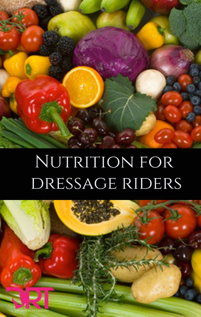 Take care of your nutrition as much as your horses with these tips