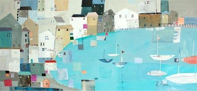 Padstow 1 Print by Liz & Kate Pope | Whistlefish Galleries